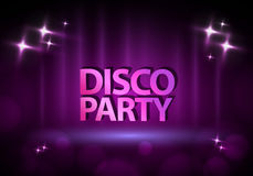 Disco background Royalty Free Stock Image