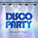 Disco background. Disco party Royalty Free Stock Photography