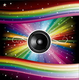 Disco Background for Music Flyers Stock Photography