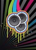 Disco background retro Royalty Free Stock Image