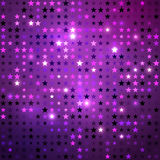 Disco background with stars Stock Image