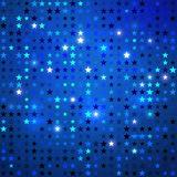 Disco background with stars. Vector abstract background with stars vector illustration