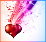 DISCO Background For Valentine's day Flyer Royalty Free Stock Photos