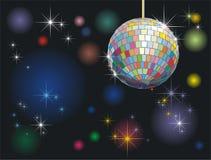 Disco-bal royalty-vrije illustratie