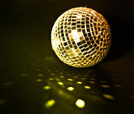 Disco ball. Background close up Stock Images