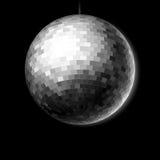Disco ball. Vector illustration of a Disco ball Royalty Free Stock Photos