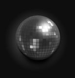 Disco Ball. 3d rendered illustration of a disco sphere Stock Images