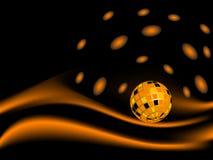 Disco ball. Abstract disco ball -  illustration Stock Photos