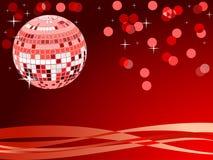 Disco ball. Vector illustration - Mirror disco ball Royalty Free Stock Photography