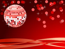 Disco ball. Royalty Free Stock Photography