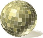 Disco ball. Isolated disco ball. Vector illustration Stock Illustration