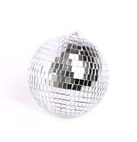 Disco ball. On grey background Stock Photography