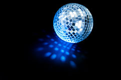 Disco ball. Background close up Stock Photography