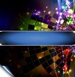 Disco ball. Vector background with disco ball Stock Image