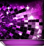 Disco ball. Vector background with disco ball Royalty Free Stock Images