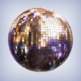 Disco ball. With clipping path stock illustration