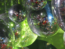 Disco ball royalty free stock photos