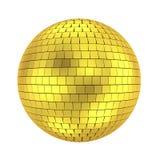 Disco ball. 3d render on white Stock Images