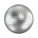 Disco ball. 3d render on white Royalty Free Illustration