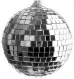 Disco ball. Small disco ball on white background stock photos