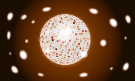 Disco ball stock image