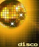 Disco ball. Retro party background with disco ball, illustration stock illustration