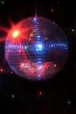 Disco ball. Mirror disco ball giving off a party vibe at a discoteque royalty free stock photo