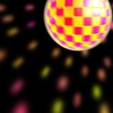 Disco ball. A colorful disco ball, idea for background Stock Photo