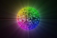 Disco Ball. Image of shiny disco ball Stock Photos