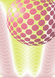 Disco ball abstract design vector Stock Photo