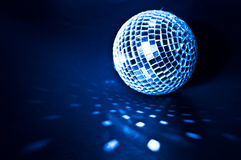 Disco ball background. Close up Stock Image