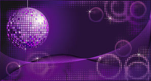 Disco-ball background royalty free illustration