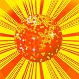 Disco ball background Royalty Free Stock Photos