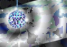 Disco ball background Stock Photos