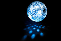 Disco ball background. Close up Royalty Free Stock Photo