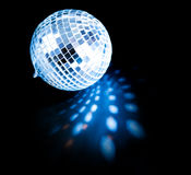 Disco ball background. Close up Stock Images