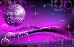 Disco-ball background Stock Image