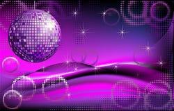 Disco-ball background Stock Image