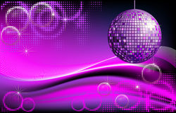 Disco-ball background Royalty Free Stock Image