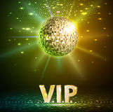 Disco ball background royalty free illustration