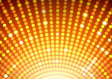 Disco Ball Background. Abstract Disco Lights Round Illustration, Vector Vector Illustration