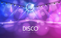 Disco ball background Stock Images