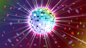 Disco ball background Royalty Free Stock Photography