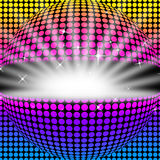 Disco Ball Background Means Light Colors And Party Royalty Free Stock Photo