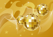 Disco ball backgrounds Royalty Free Stock Photography