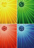 Disco Ball Backgrounds Royalty Free Stock Photos