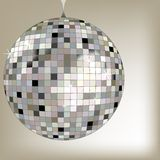 Disco ball black Stock Image