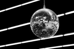 Disco ball in the club Stock Photography