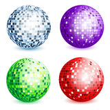 Disco ball collection Royalty Free Stock Images