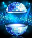 Disco ball. Disco background Royalty Free Stock Photography